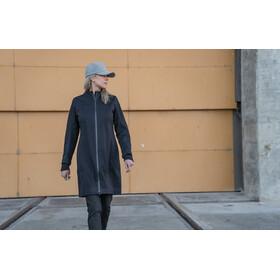 Alchemy W's Longline Softshell Coat Black